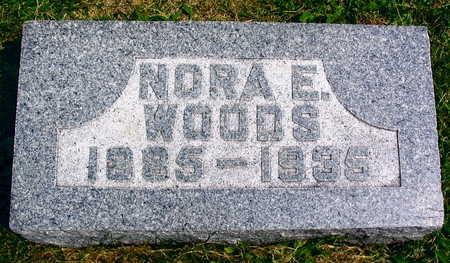 WOODS, NORA E. - Linn County, Iowa | NORA E. WOODS