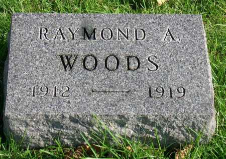WOODS, RAYMOND A. - Linn County, Iowa | RAYMOND A. WOODS