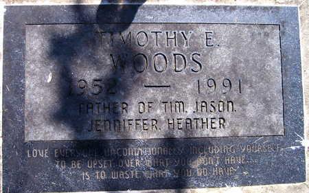 WOODS, TIMOTHY E. - Linn County, Iowa | TIMOTHY E. WOODS