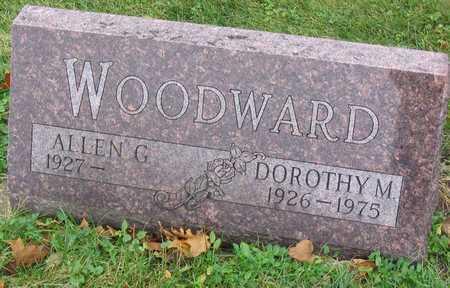 WOODWARD, DOROTHY M. - Linn County, Iowa | DOROTHY M. WOODWARD