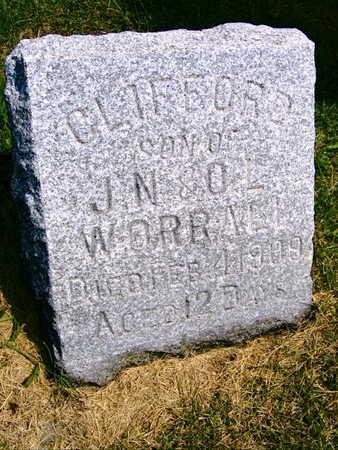 WORRALL, CLIFFORD - Linn County, Iowa | CLIFFORD WORRALL