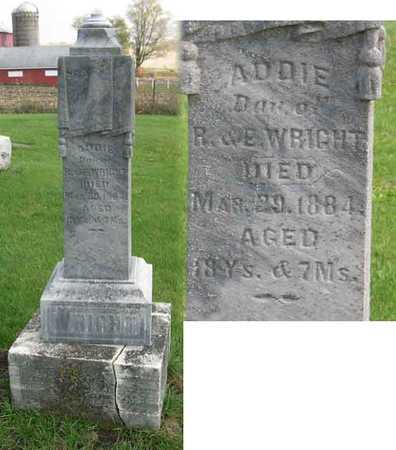 WRIGHT, ADDIE - Linn County, Iowa | ADDIE WRIGHT