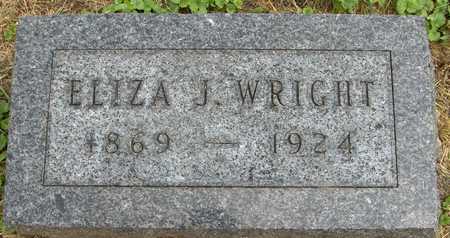 WRIGHT, ELIZA J. - Linn County, Iowa   ELIZA J. WRIGHT