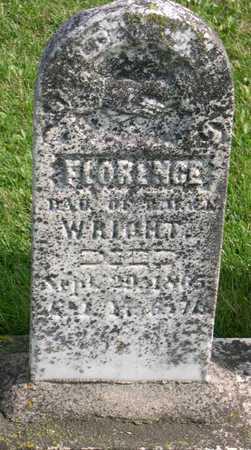 WRIGHT, FLORENCE - Linn County, Iowa | FLORENCE WRIGHT