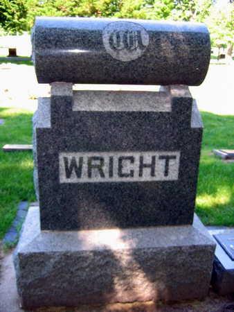 WRIGHT, FAMILY STONE - Linn County, Iowa   FAMILY STONE WRIGHT