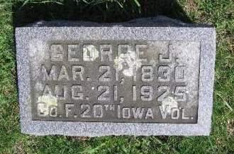 WRIGHT, GEORGE J. - Linn County, Iowa | GEORGE J. WRIGHT