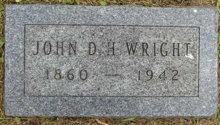 WRIGHT, JOHN D. H. - Linn County, Iowa | JOHN D. H. WRIGHT