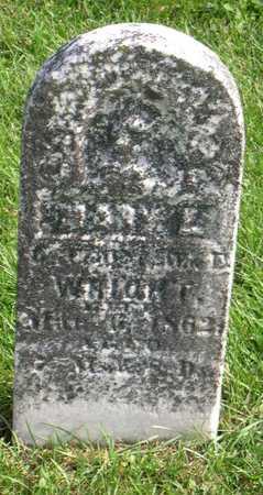 WRIGHT, MARY E. - Linn County, Iowa | MARY E. WRIGHT