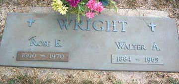 WRIGHT, WALTER A. - Linn County, Iowa   WALTER A. WRIGHT