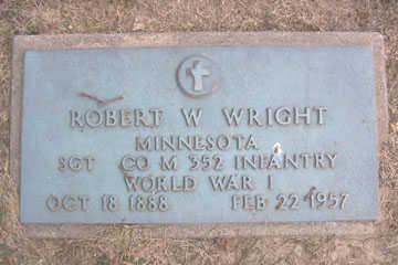 WRIGHT, ROBERT W. - Linn County, Iowa | ROBERT W. WRIGHT