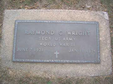 WRIGHT, RAYMOND C. - Linn County, Iowa | RAYMOND C. WRIGHT