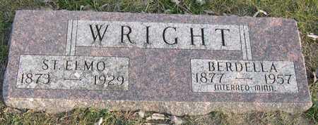WRIGHT, ST. ELMO - Linn County, Iowa | ST. ELMO WRIGHT