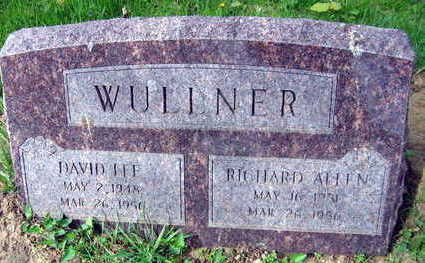 WULLNER, DAVID LEE - Linn County, Iowa | DAVID LEE WULLNER