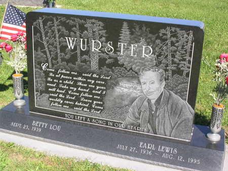 WURSTER, EARL LEWIS - Linn County, Iowa | EARL LEWIS WURSTER