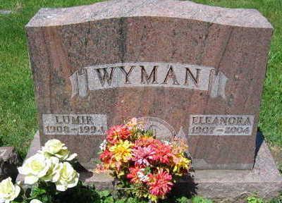 WYMAN, ELEANORA - Linn County, Iowa   ELEANORA WYMAN