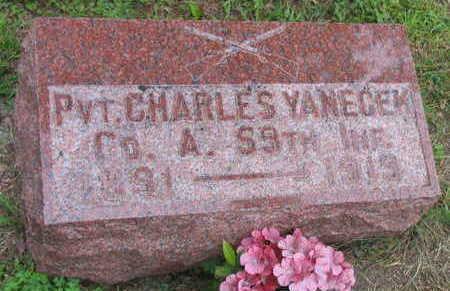 YANECEK, CHARLES - Linn County, Iowa | CHARLES YANECEK