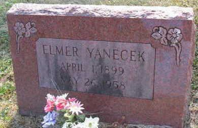YANECEK, ELMER - Linn County, Iowa | ELMER YANECEK