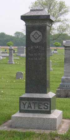 YATES, G. W. - Linn County, Iowa | G. W. YATES