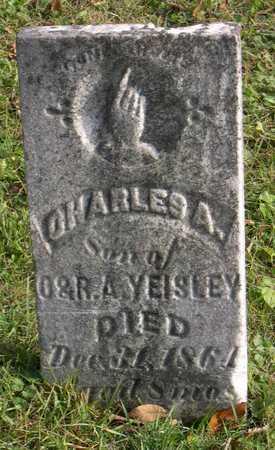 YEISLEY, CHARLES A. - Linn County, Iowa   CHARLES A. YEISLEY