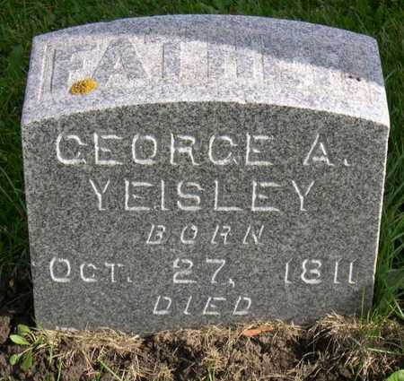 YEISLEY, GEORGE A. - Linn County, Iowa | GEORGE A. YEISLEY