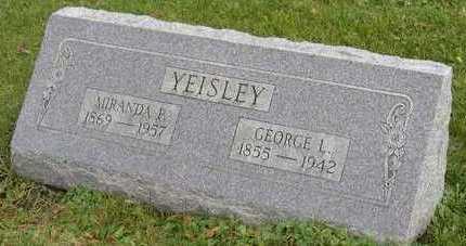 YEISLEY, MIRANDA P. - Linn County, Iowa   MIRANDA P. YEISLEY