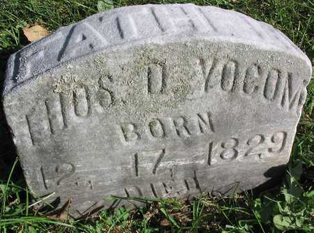 YOCOM, THOS. D. - Linn County, Iowa | THOS. D. YOCOM