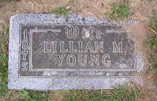 YOUNG, LILLIAN M. - Linn County, Iowa   LILLIAN M. YOUNG
