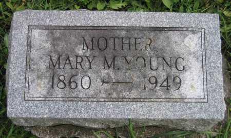 YOUNG, MARY M. - Linn County, Iowa   MARY M. YOUNG
