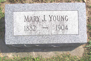 YOUNG, MARY J. - Linn County, Iowa | MARY J. YOUNG
