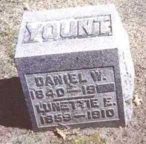 YOUNT, LUNETTIE E. - Linn County, Iowa | LUNETTIE E. YOUNT