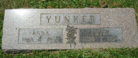 YUNKER, PETER - Linn County, Iowa | PETER YUNKER