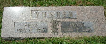 YUNKER, ANNA - Linn County, Iowa | ANNA YUNKER