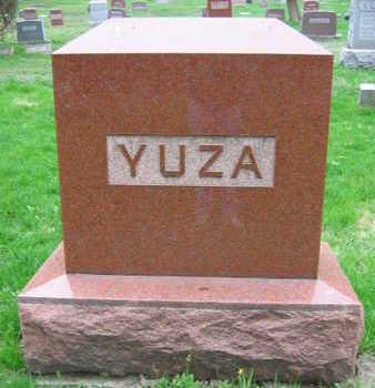 YUZA, FAMILY STONE - Linn County, Iowa   FAMILY STONE YUZA