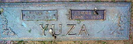 YUZA, FRANK G. - Linn County, Iowa   FRANK G. YUZA