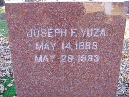 YUZA, JOSEPH F. - Linn County, Iowa   JOSEPH F. YUZA