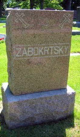 ZABOKRTSKY, FAMILY STONE - Linn County, Iowa | FAMILY STONE ZABOKRTSKY