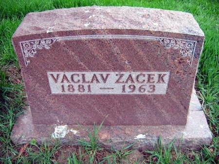 ZACEK, VACLAV - Linn County, Iowa | VACLAV ZACEK