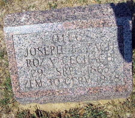 ZACH, JOSEF F. - Linn County, Iowa | JOSEF F. ZACH