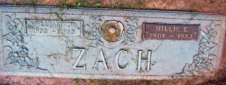 ZACH, MILLIE E. - Linn County, Iowa | MILLIE E. ZACH