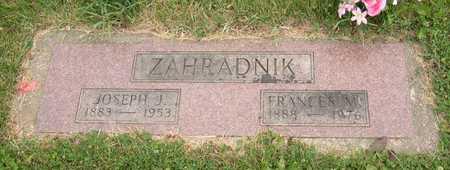 ZAHRADNIK, JOSEPH J. - Linn County, Iowa | JOSEPH J. ZAHRADNIK