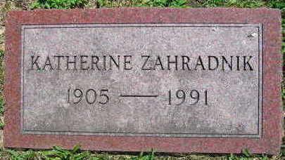 ZAHRADNIK, KATHERINE - Linn County, Iowa | KATHERINE ZAHRADNIK