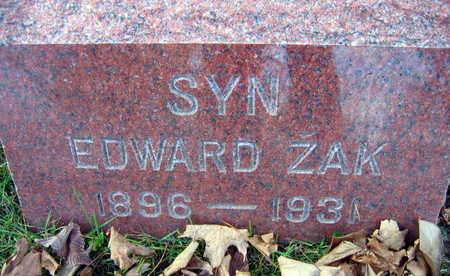 ZAK, EDWARD - Linn County, Iowa | EDWARD ZAK
