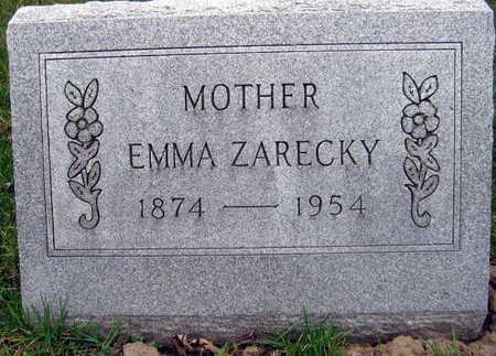 ZARECKY, EMMA - Linn County, Iowa   EMMA ZARECKY