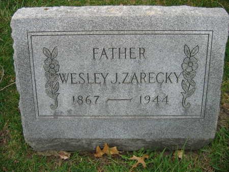 ZARECKY, WESLEY J. - Linn County, Iowa | WESLEY J. ZARECKY