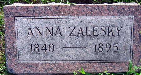 ZALESKY, ANNA - Linn County, Iowa   ANNA ZALESKY