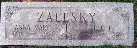 ZALESKY, FRED F. - Linn County, Iowa | FRED F. ZALESKY