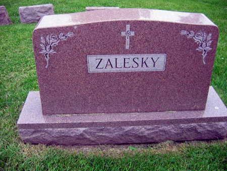 ZALESKY, FAMILY STONE - Linn County, Iowa   FAMILY STONE ZALESKY