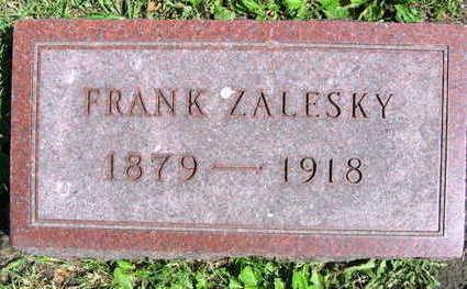 ZALESKY, FRANK - Linn County, Iowa   FRANK ZALESKY
