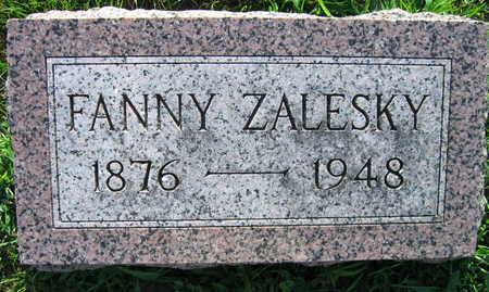 ZALESKY, FANNY - Linn County, Iowa | FANNY ZALESKY
