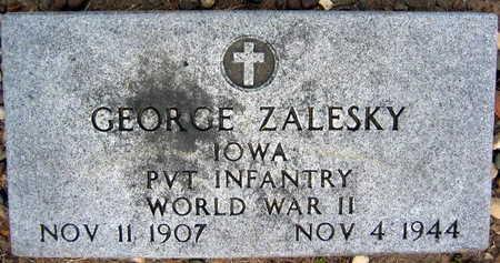 ZALESKY, GEORGE - Linn County, Iowa | GEORGE ZALESKY